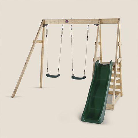 PLUM SWINGS AND SLIDES