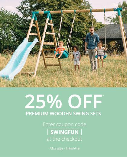 25 Off Swing Sets