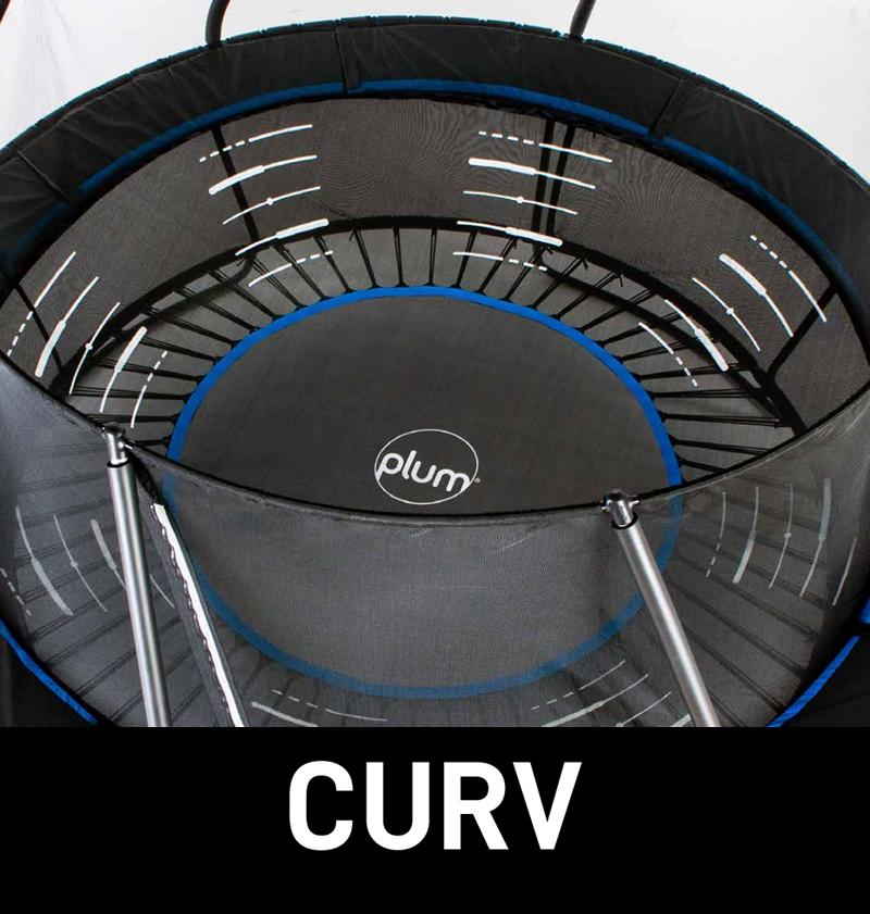 Plum Bowl Trampoline Main Image